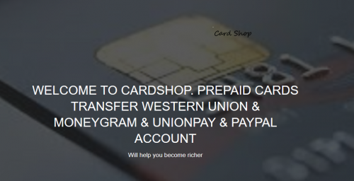 Cardshop